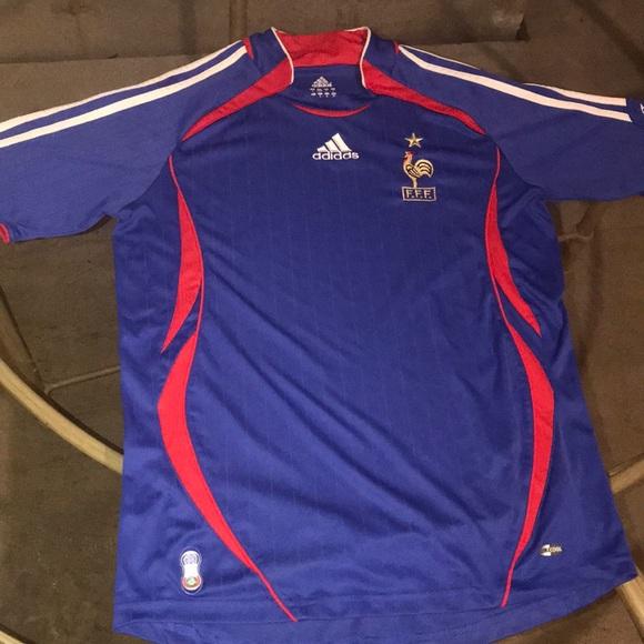 Adidas FRANCE 2006 World Cup shirt!